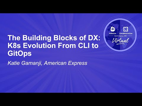 Image thumbnail for talk The Building Blocks of DX: K8s Evolution From CLI to GitOps
