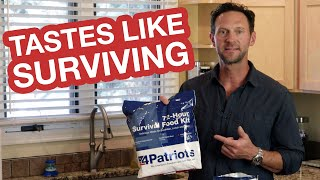 Survival Food Review | 4Patriots 72-Hour Pack