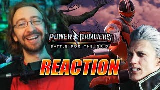 MAX REACTS: Quantum(Vergil) Ranger Reveal - Power Rangers Battle For The Grid