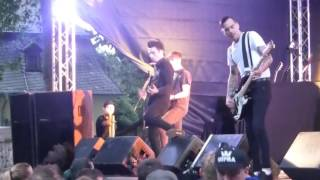 """ANTI FLAG """"I'D TELL YOU+ WAR SUCKS LET'S PARTY"""" @TRIER 2016(GERMANY)"""