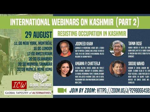 International Webinar on Kashmir Part 2