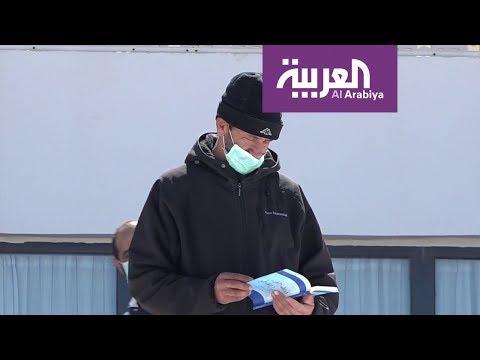 العرب اليوم - شاهد: مبادرة جزائرية لتوزيع الكتب على المتواجدين في الحجر الصحي