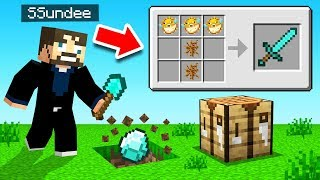 ALL DROPS ARE RANDOM! in MINECRAFT!