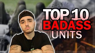 Ex British Soldier Reacts TOP 10 Most BADASS Special Forces!!
