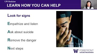 Newswise:Video Embedded learn-webinar-on-suicide-prevention-training