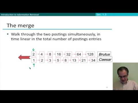 18 4 query processing with the inverted index stanford n