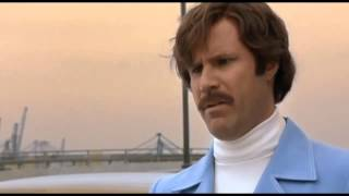 Anchorman: Baxter is Punted Scene