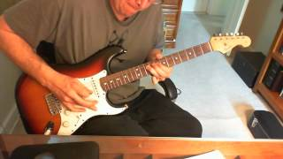 Eric Clapton Next Time You See Her guitar solo (cover)