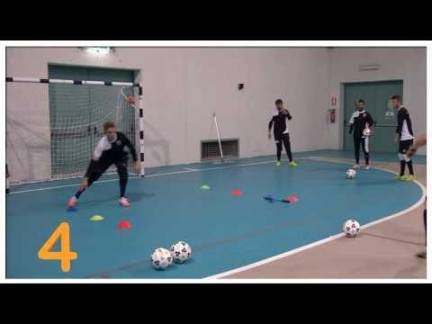 Preview video Allenamento dei portieri calcio a 5 - pt.1