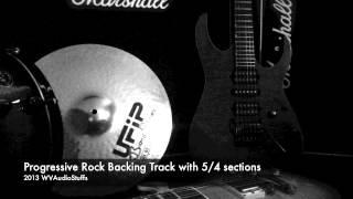 Prog Rock Backing Track