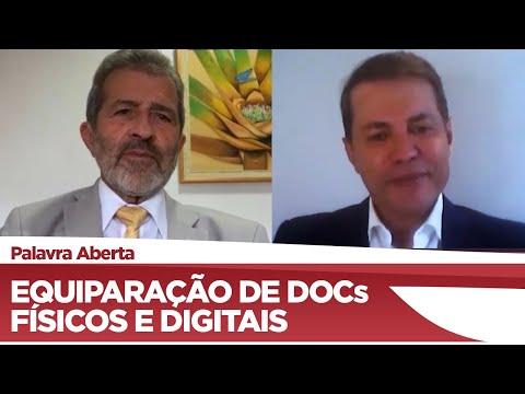 Gonzaga Patriota propõe equiparação de documentos físicos e digitais - 04/12/20