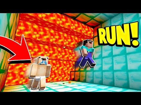 Minecraft SUPER CRAZY LAVA RUN! with PrestonPlayz & UnspeakableGaming