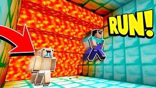 Minecraft SUPER CRAZY LAVA RUN! with PrestonPlayz & UnspeakableGaming