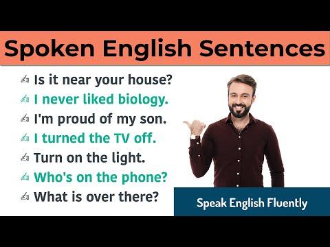Daily Use English word and Sentences for Spoken English    English ...