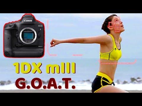 External Review Video B-hrZmFS9RI for Canon EOS-1DX Mark III Full-Frame DSLR Camera