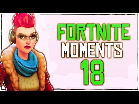 Fortnite Battle Royale WTF & Funny Moments Episode. 18