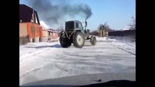 Деревенский дрифт!