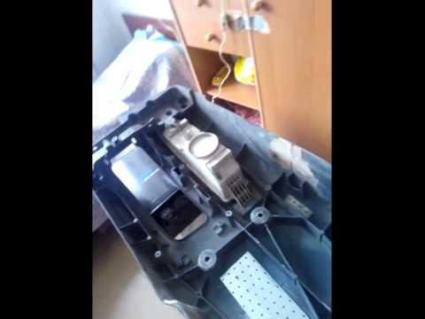 Ремонт бампера своими руками MAN 8.150 ч 1