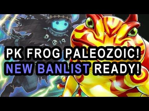 PK FROG PALEOZOIC! NEW BANLIST READY! GRASS GREENER TOO GOOD?