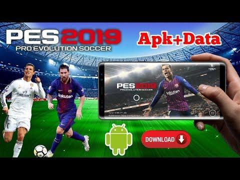 PES 2019 Android FC Barcelona Patch OBB Download - смотреть
