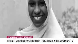 Zainab Aliyu: Intense Negotiation Led To Freedom  - Foreign Affairs