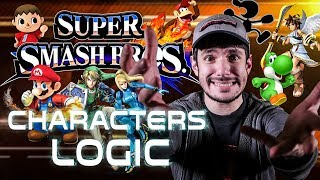 SUPER SMASH BROS. CHARACTERS LOGIC