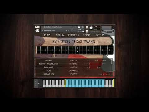 Video for Evolution Texas Twang - Factory Preset Walkthrough