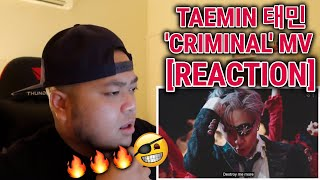 FIRST TIME REACTING TO TAEMIN 태민 'Criminal' MV