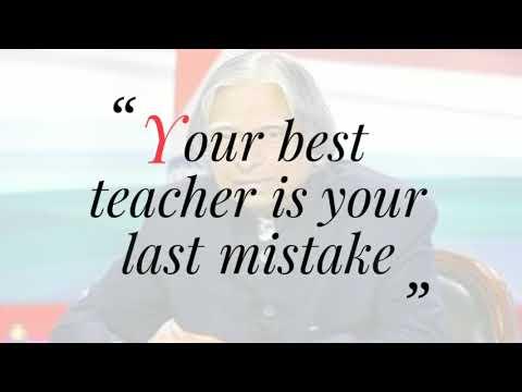 APJ abdul kalam best 10  motivational thought.