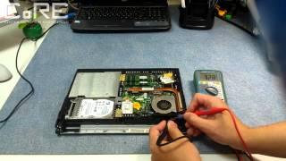 Универсальный способ диагностики системы заряда батареи в ноутбуке.