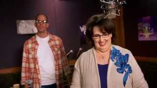 """Pixar's Inside Out: Phyllis Smith """"Sadness"""" Behind the Scenes Voice Recording"""