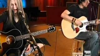 Avril Lavigne - Sk8er Boi [acoustic] live [Sessions @ AOL]  [April 12, 2004]  [HQ]