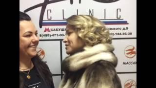 Стилист Светлана и ее клиент