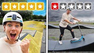 1 Stern VS 5 Sterne Skatepark!