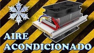 Aire Acondicionado Casero De Verdad (Experimentar En Casa)