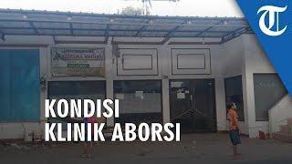 VIDEO: Disegel Polisi, Begini Kondisi Klinik Praktik Aborsi di Tambun Bekasi