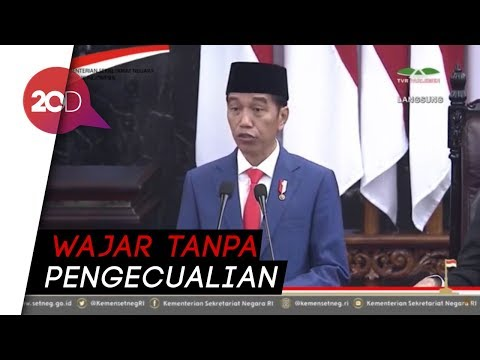 Jokowi Pamer Laporan Keuangan 2016 2018 Raih WTP