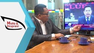 Mata & Ekspresi: Analisa Ekspresi Karni Ilyas Soal Tak Hadirkan Rocky Gerung Di ILC