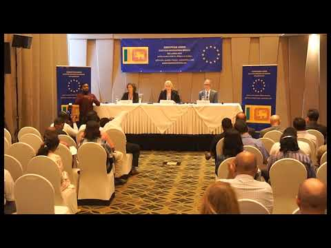 EU EOM Sri Lanka 2019 Launch press conference Oct 22 DCO address 2