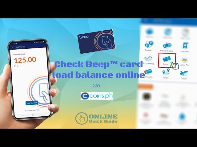 How To Check Beep Card Balance