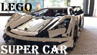 Lego Super Car MOC - Best Ever! [Time lapse | WG Studio]