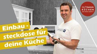 Welche Einbausteckdose passt in deine Küchenplanung? Clevere Küchen Ideen für Strom!