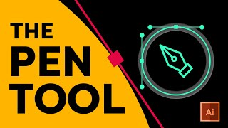 The CORRECT Way To Use The Pen Tool | Adobe Illustrator 2020