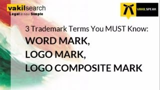 3 Terms You MUST know for Registering your Trademark