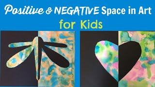 Positive & Negative Space in Art for Kids