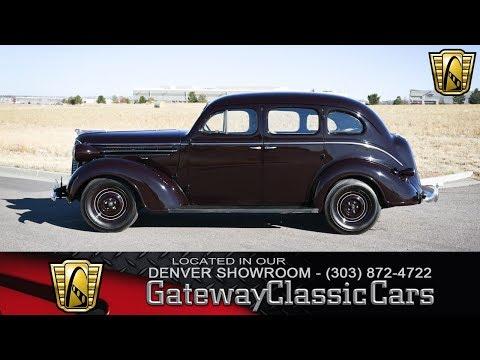 1937 Dodge Sedan - Denver Showroom #200 Gateway Classic Cars