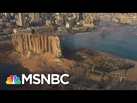 Rescue Operations Underway After Beirut Explosion Kills At Least 100, Wounds Thousands | MSNBC
