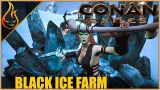 Black Ice Farm Conan Exiles 2018 Beginner Tips