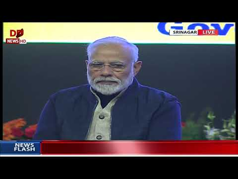 FULL EVENT: PM inaugurates and lays foundation stones for various development projects in Srinagar