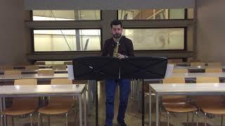 Memories of Xiao Xiang. Lei Liang. Saxofón alto y electroacústica. Antonio Jesús Hernández Carmona